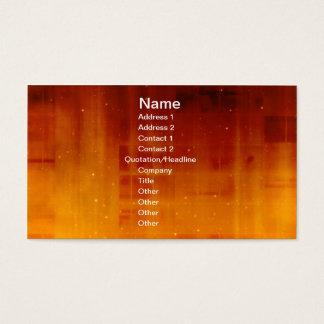 Spaced Warp Business Card