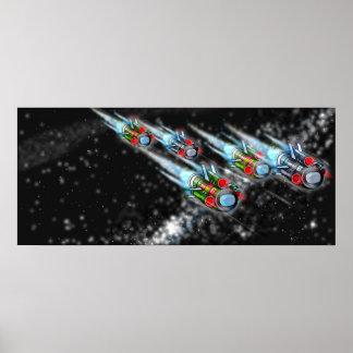 Spacefleet Orginal Poster
