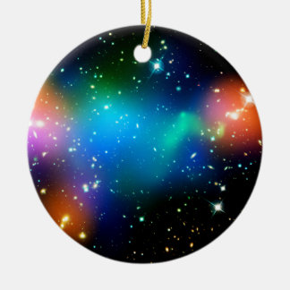 SpaceGalaxies Gifts - Galaxy Cluster Abell Christmas Ornaments