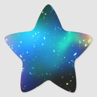 SpaceGalaxies Gifts - Galaxy Cluster Abell Star Sticker