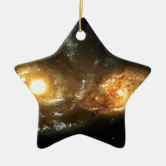 SpaceGalaxies Gifts - Interacting Spiral Galaxie Christmas Ornaments
