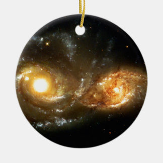 SpaceGalaxies Gifts - Interacting Spiral Galaxie Ornaments