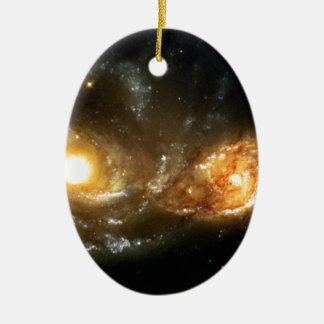 SpaceGalaxies Gifts - Interacting Spiral Galaxie Ornament