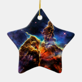 SpaceGalaxies Gifts - Mystic Mountain Christmas Tree Ornament