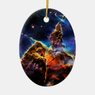 SpaceGalaxies Gifts - Mystic Mountain Christmas Tree Ornaments