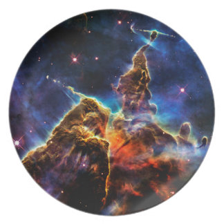 SpaceGalaxies Gifts - 'Mystic Mountain' Plate