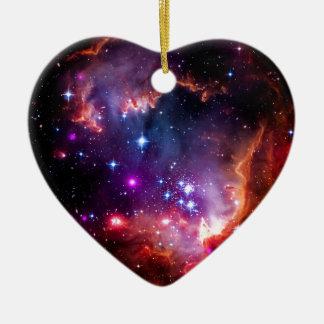 SpaceGalaxies Gifts - Small Magellanic Cloud Ceramic Ornament
