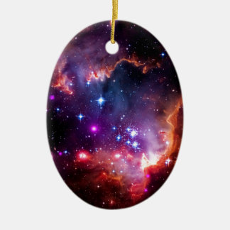 SpaceGalaxies Gifts - Small Magellanic Cloud Christmas Tree Ornament