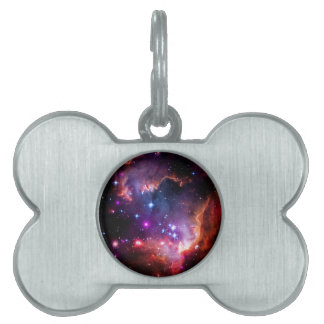 SpaceGalaxies Gifts - Small Magellanic Cloud Pet Name Tag