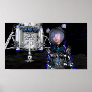 ¡SpaceGirl - el futuro del ESPACIO! Póster