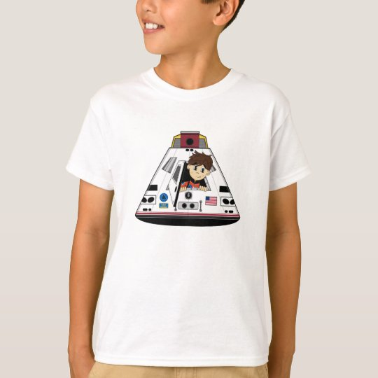 Spaceman and Capsule Tee