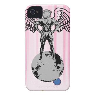 spaceman angel bodybuilder Case-Mate iPhone 4 cases