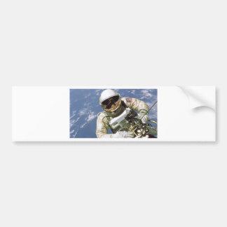 Spaceman Bumper Sticker