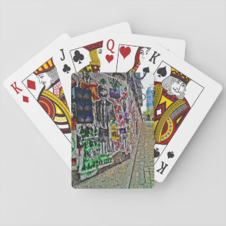 Spaceman Business Time Poker Cards