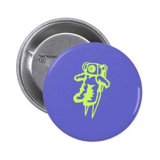Spaceman button.