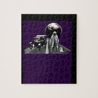 Spaceman Hitch-Hiker Jigsaw Puzzles