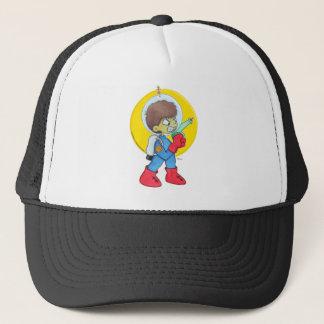 Spaceman Mad Trucker Hat
