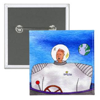 SpaceMan Square Button
