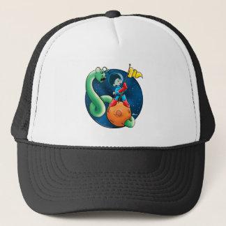 Spaceman & Worm Trucker Hat