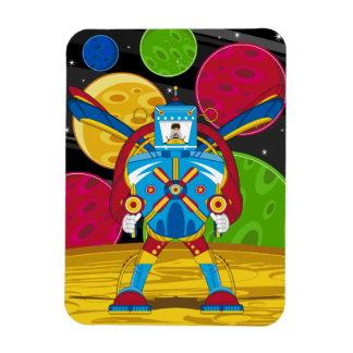 Spacemen In Giant Mecha Robot Vinyl Magnets