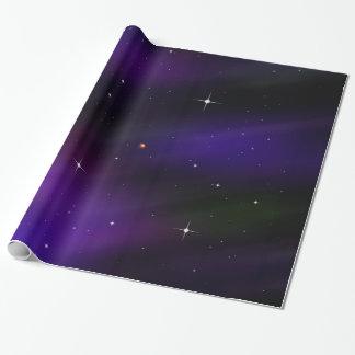 Spacescape con los planetas y las estrellas