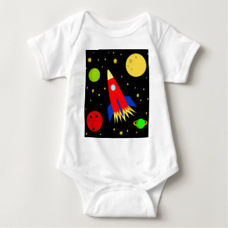 Spaceship Baby Bodysuit