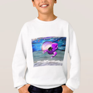 Spaceship © by LB Regalado Sweatshirt