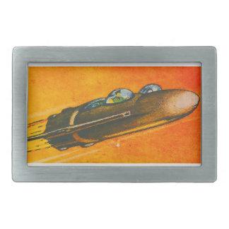 Spaceship Car Belt Buckle