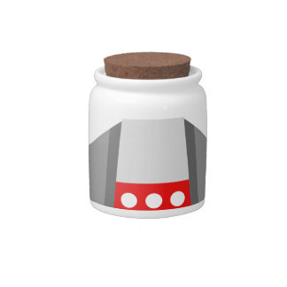 Spaceship Cartoon Candy Dishes