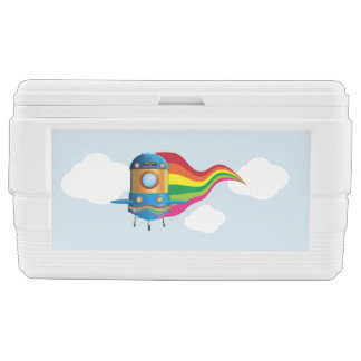 Spaceship Chest Cooler