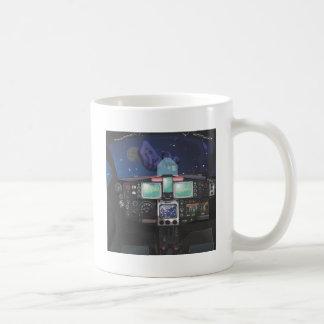 Spaceship Console Coffee Mug