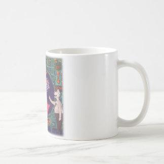 Spaceship Cow Coffee Mug