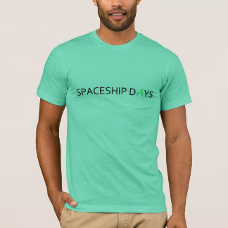 SPACESHIP DAYS Basic T shirt
