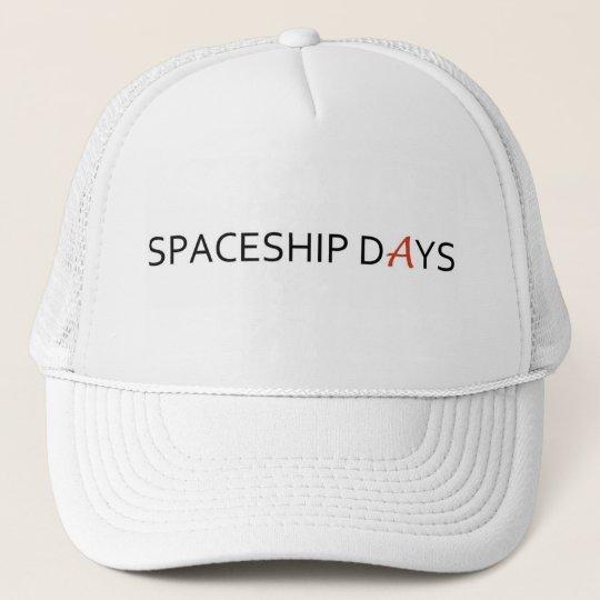 Spaceship Days Cap