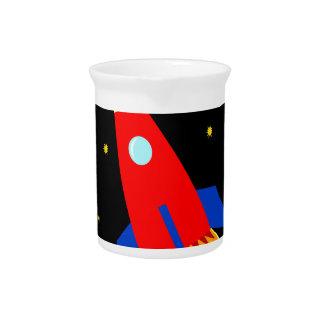 Spaceship Drink Pitcher