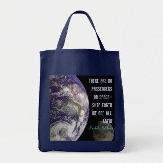 spaceship earth bag