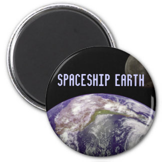 spaceship earth magnet
