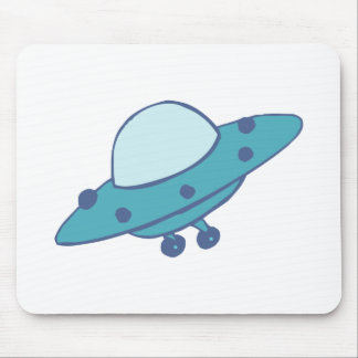 Spaceship flying saucer UFO Mousepads