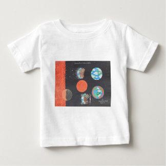 Spaceship Hollow Earth Art Baby T-Shirt