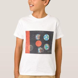 Spaceship Hollow Earth Art T-Shirt