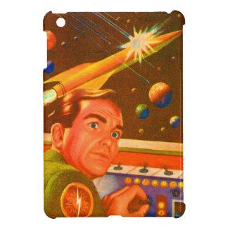 Spaceship in Monitor iPad Mini Cover