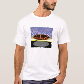spaceship in the air T-Shirt