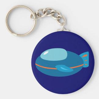 Spaceship Keychain