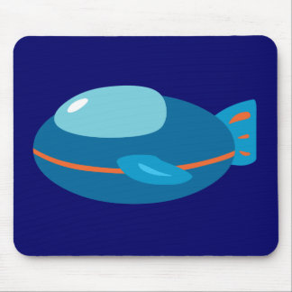 Spaceship Mouse Pad
