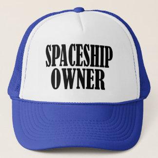 SPACESHIP OWNER TRUCKER HAT