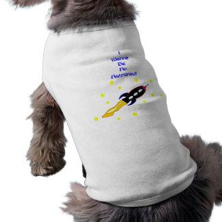 Spaceship Pet T-Shirt