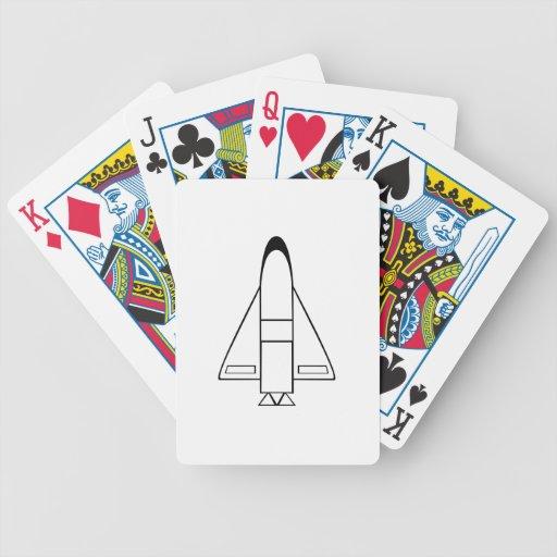 Spaceship Bicycle Card Decks
