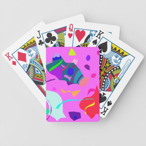 Spaceship Quiet Picture One-way Romantic Bicycle Playing Cards
