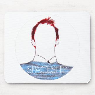 Spaceship Shirt Mouse Pad