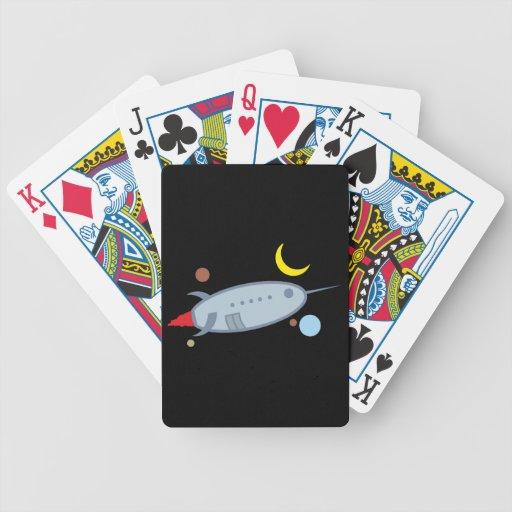 Spaceship spaceship card decks